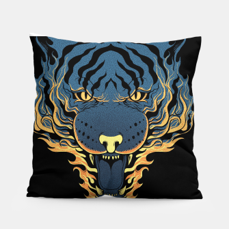 Miniatur Tiger Fire Pillow, Live Heroes