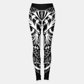 Thumbnail image of Owl Ornate Leggings, Live Heroes
