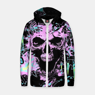 Thumbnail image of Horror Zip up hoodie, Live Heroes