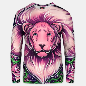 Thumbnail image of Pink Lion Unisex sweater, Live Heroes