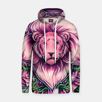Thumbnail image of Pink Lion Hoodie, Live Heroes