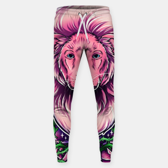 Pink Lion Sweatpants miniature