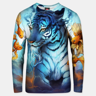 Thumbnail image of Fish Tiger Unisex sweater, Live Heroes