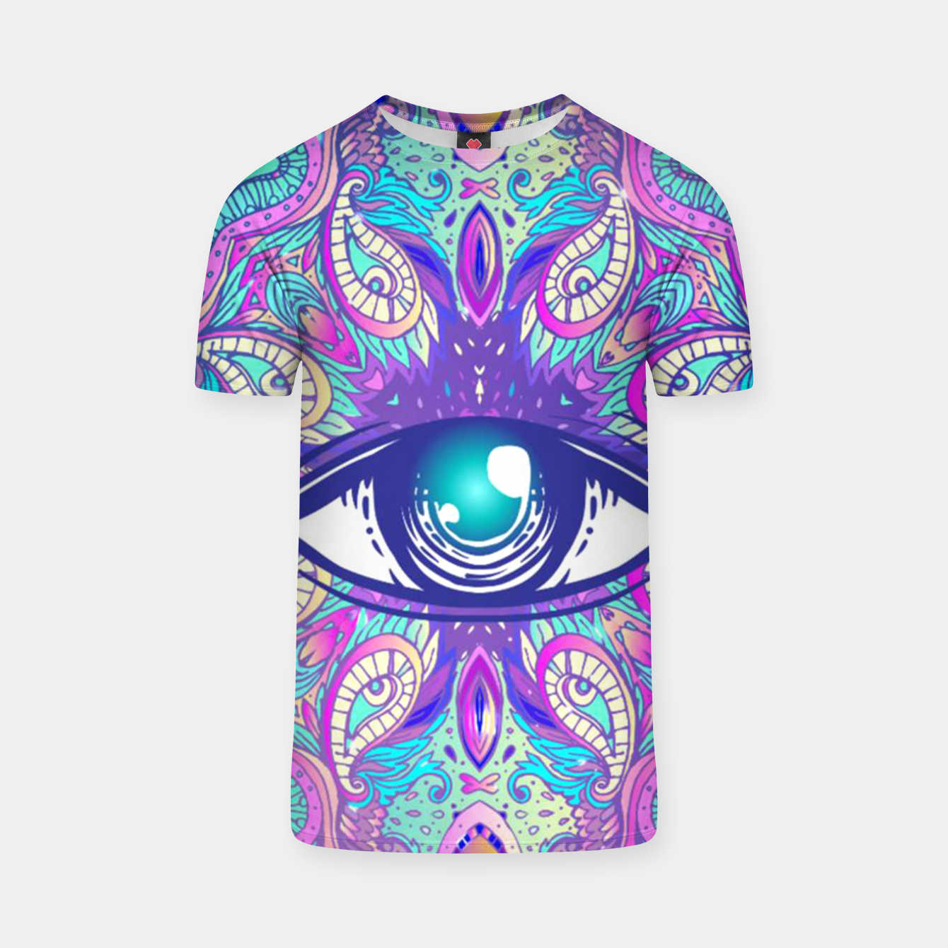 Image de Colorful Eye T-shirt - Live Heroes