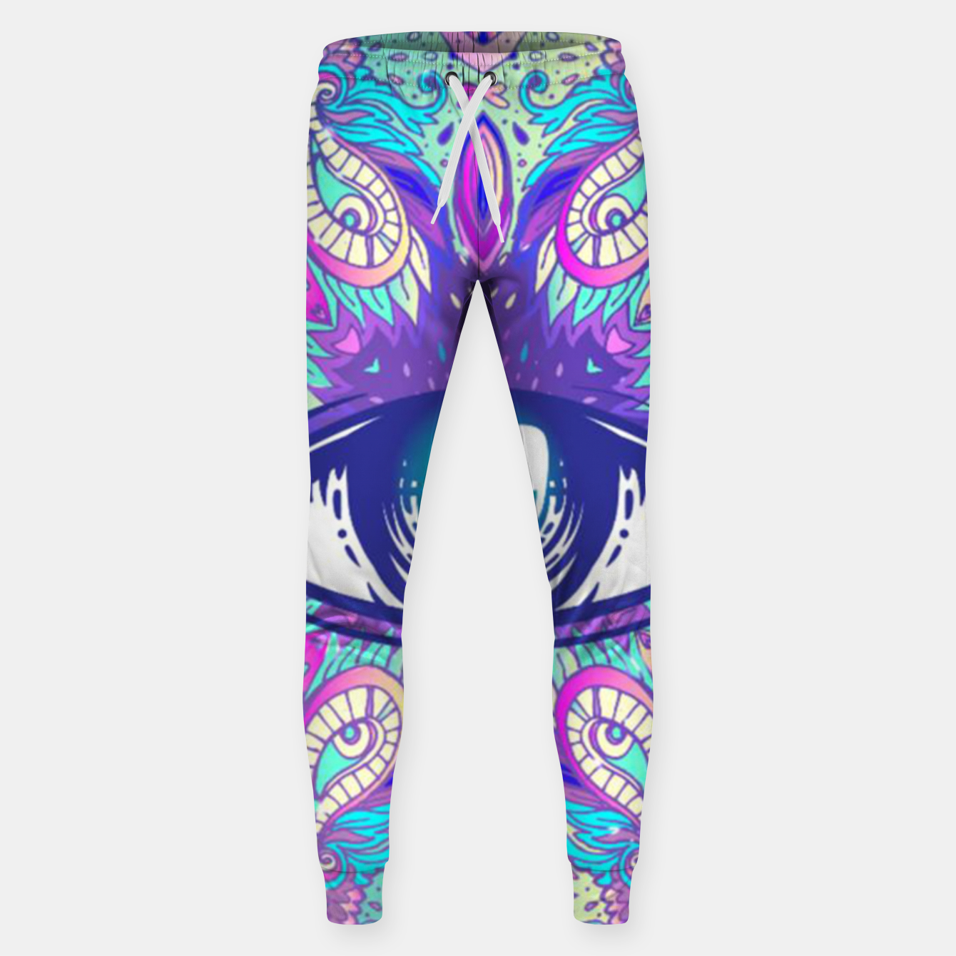 Image de Colorful Eye Sweatpants - Live Heroes
