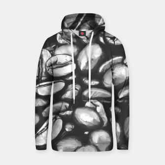 Thumbnail image of roasted coffee beans texture acrbw Hoodie, Live Heroes