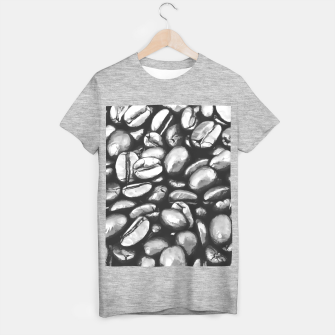 Thumbnail image of roasted coffee beans texture acrbw T-shirt regular, Live Heroes