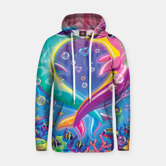 Thumbnail image of Heart Dolphins Hoodie, Live Heroes