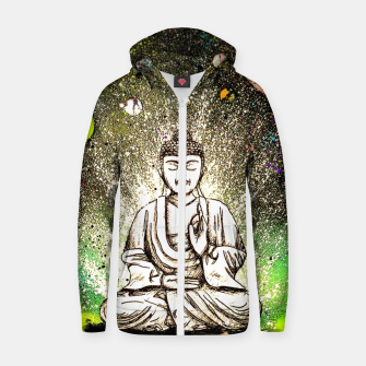 Thumbnail image of Zen Zip up hoodie, Live Heroes