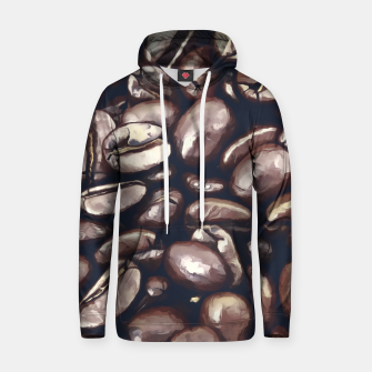 roasted coffee beans texture acrfn Hoodie miniature