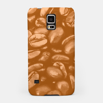 roasted coffee beans texture acrcb Samsung Case miniature