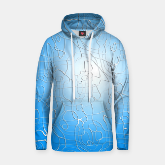 Thumbnail image of Lines in Blue Hoodie, Live Heroes