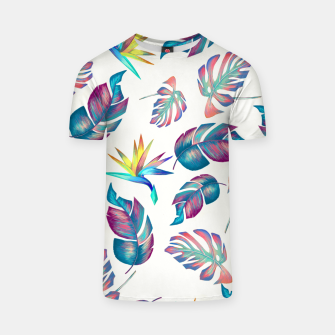 Thumbnail image of Tropical Pattern #4 T-shirt, Live Heroes