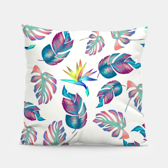 Thumbnail image of Tropical Pattern #4 Pillow, Live Heroes