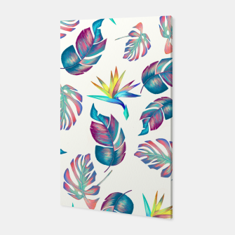 Thumbnail image of Tropical Pattern #4 Canvas, Live Heroes
