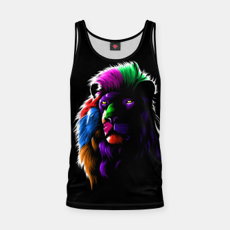 Thumbnail image of Colors Lion Camiseta de tirantes, Live Heroes