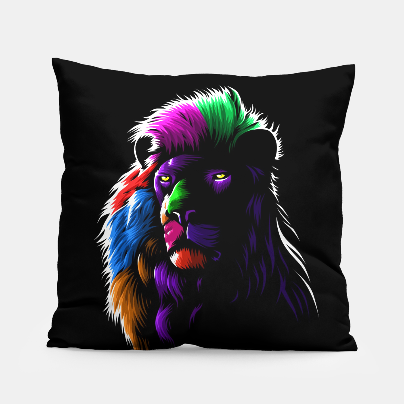 Foto Colors Lion Almohada - Live Heroes
