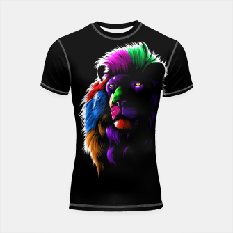 Thumbnail image of Colors Lion Shortsleeve rashguard, Live Heroes