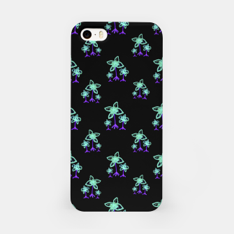 Thumbnail image of Dark Floral Print Pattern iPhone Case, Live Heroes