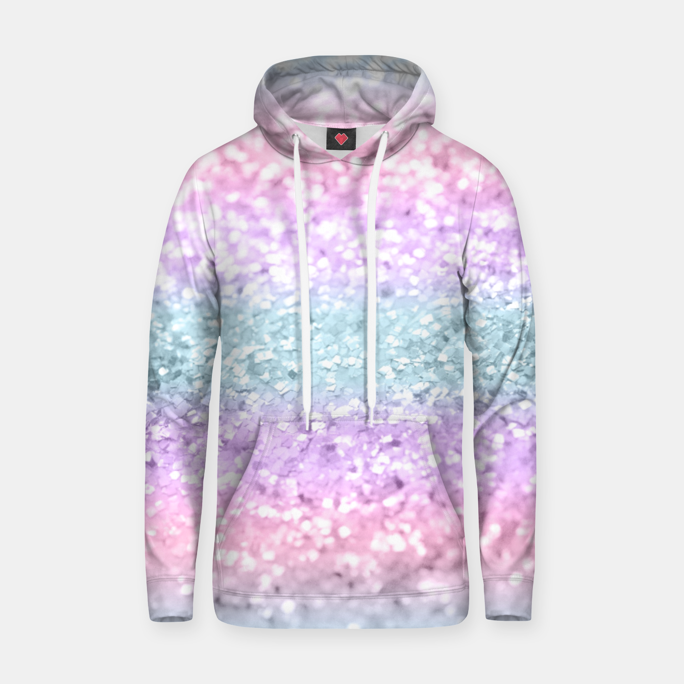 Zdjęcie Unicorn Girls Glitter #11 #shiny #pastel #decor #art Kapuzenpullover - Live Heroes