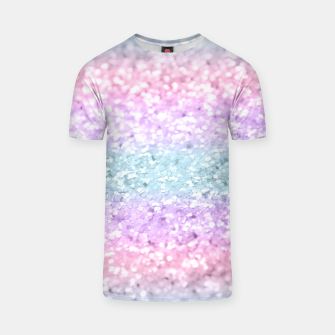 Miniature de image de Unicorn Girls Glitter #11 #shiny #pastel #decor #art T-Shirt, Live Heroes
