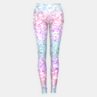 Miniature de image de Unicorn Girls Glitter #11 #shiny #pastel #decor #art Leggings, Live Heroes