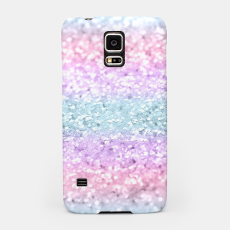 Thumbnail image of Unicorn Girls Glitter #11 #shiny #pastel #decor #art Handyhülle für Samsung, Live Heroes