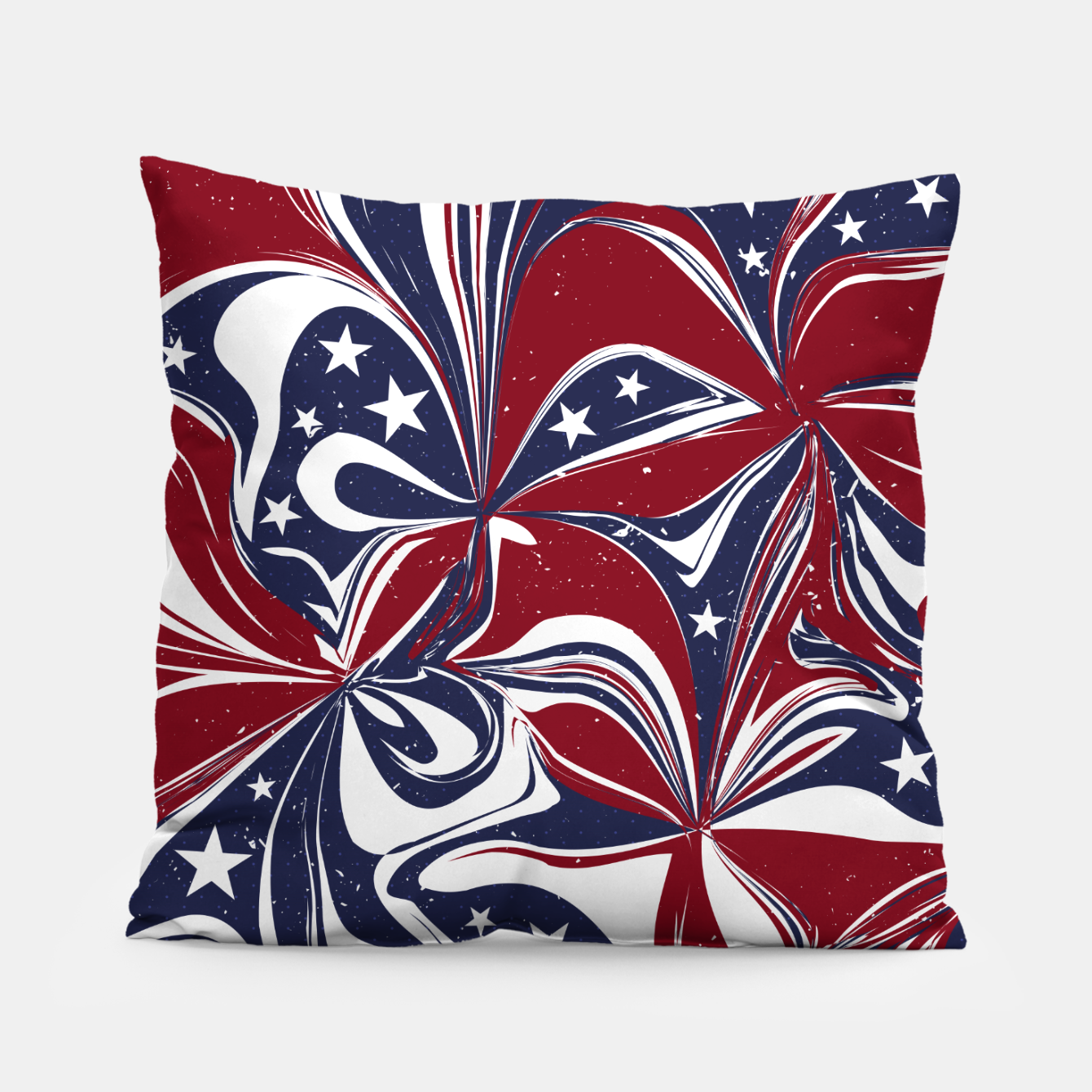 Foto Abstract Flowers With Stars Vector Painting Pillow - Live Heroes