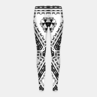 Thumbnail image of EM-C2R 1174133 Girl's leggings, Live Heroes