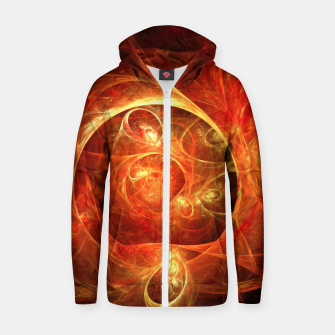 Miniatur Abstract Magical Zip up hoodie, Live Heroes
