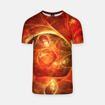 Miniatur Abstract Magical T-shirt, Live Heroes
