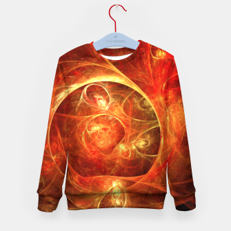 Miniatur Abstract Magical Kid's sweater, Live Heroes