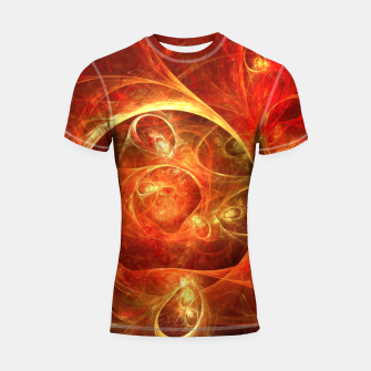 Miniatur Abstract Magical Shortsleeve rashguard, Live Heroes