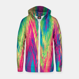 Thumbnail image of Rainbow 22 Zip up hoodie, Live Heroes