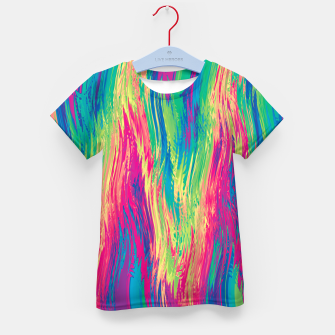 Thumbnail image of Rainbow 22 Kid's t-shirt, Live Heroes