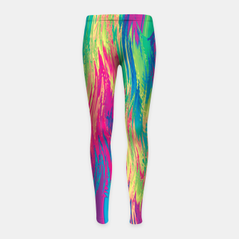 Thumbnail image of Rainbow 22 Girl's leggings, Live Heroes