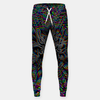 Thumbnail image of Black Mystery Sweatpants, Live Heroes
