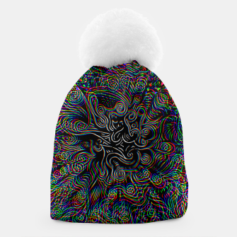 Thumbnail image of Black Mystery Beanie, Live Heroes