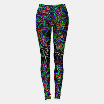 Thumbnail image of Black Mystery Leggings, Live Heroes