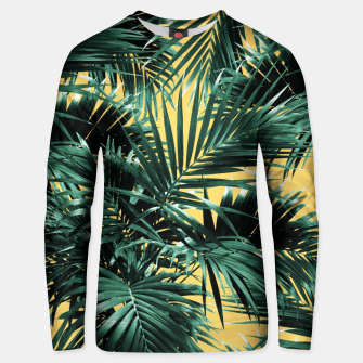 Miniaturka Tropical Palm Leaf Jungle #2 #tropical #decor #art  Unisex sweatshirt, Live Heroes