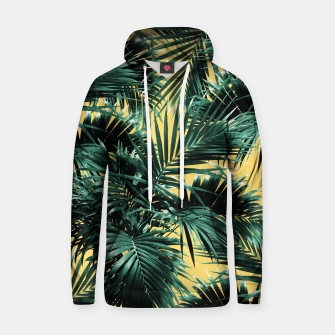 Miniaturka Tropical Palm Leaf Jungle #2 #tropical #decor #art  Kapuzenpullover, Live Heroes