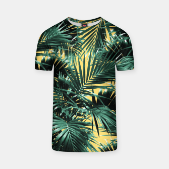 Miniaturka Tropical Palm Leaf Jungle #2 #tropical #decor #art  T-Shirt, Live Heroes