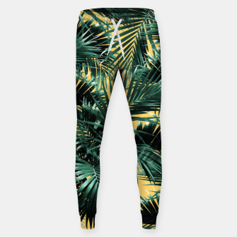 Miniaturka Tropical Palm Leaf Jungle #2 #tropical #decor #art  Hosen, Live Heroes