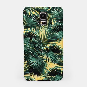 Miniaturka Tropical Palm Leaf Jungle #2 #tropical #decor #art  Handyhülle für Samsung, Live Heroes
