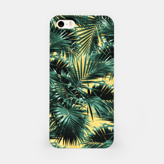 Thumbnail image of Tropical Palm Leaf Jungle #2 #tropical #decor #art  iPhone-Hülle, Live Heroes