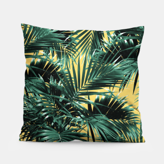 Miniaturka Tropical Palm Leaf Jungle #2 #tropical #decor #art  Kissen, Live Heroes