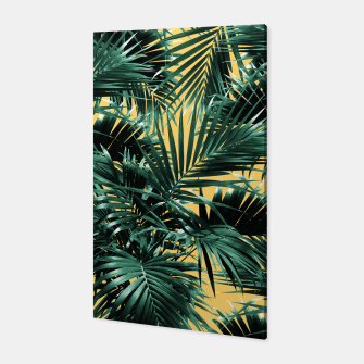Thumbnail image of Tropical Palm Leaf Jungle #2 #tropical #decor #art  Canvas, Live Heroes