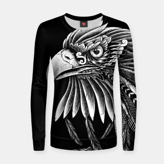 Thumbnail image of Eagle Ornate Women sweater, Live Heroes
