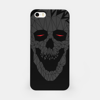 Miniatur Skull Triangle 2 iPhone Case, Live Heroes