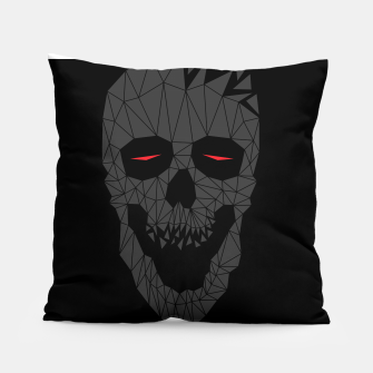 Miniatur Skull Triangle 2 Pillow, Live Heroes